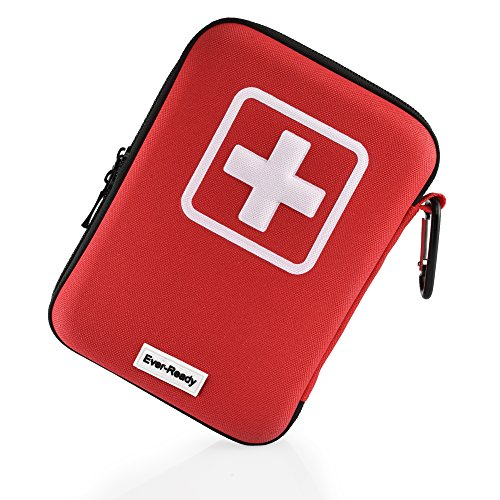 First Aid Kit (135 Pieces) + Bonus Kit - Ever-Ready Keeping Your Family Safe In Emergencies - Fully Stocked For your Car, Home or Office With Medical Supplies - A ()