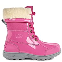 UGG Girls Butte II Patent Rain Boot