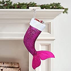 Mermaid Tail Sequins Christmas Stockings