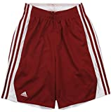 Adidas Men's Hoops Shorts (Medium, Victory Red)