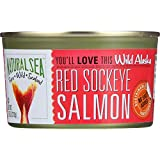 Natural Sea Red Sockeye No Salt Added 7.5 Oz (Pack of 24)