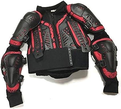 6 ann/ées//S Motos Enfants Armure XTRM Enfant Corps Armor Vest Nouveau Motocross Quad MX Courses Hors-Piste Professionnel de Protection ATV Sport CE approuver Armure Noir