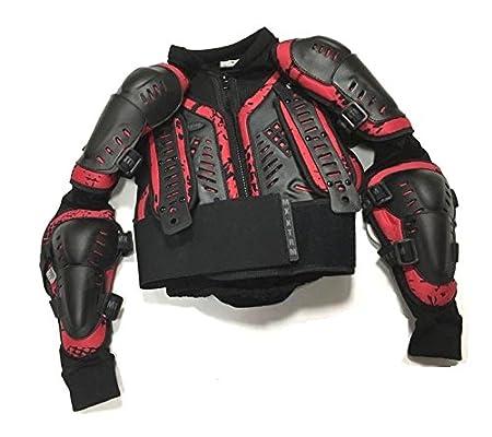 Motos Enfants Armure XTRM Enfant Corps Armor Vest Nouveau Motocross Quad MX Courses Hors-Piste Professionnel de Protection ATV Sport CE approuver Armure 8 ann/ées//M Noir//Bleu