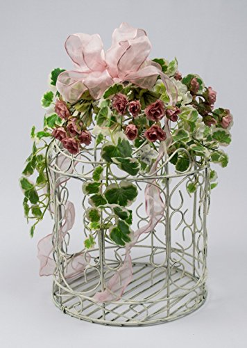 chippy-wire-birdcage-with-miniature-silk-roses-and-greenery