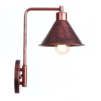 Vintage Lampe Moderne Applique Edison Murale Industrielle hrdstQC