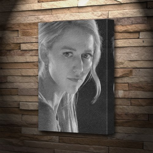 Seasons JOHANNA BRADDY - Canvas Print (A4 - Signed by the Artist) #js002 by Seasons