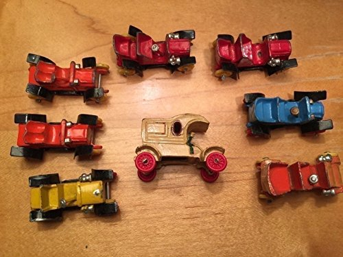 Diecast Lead Toy Cars Lot - Vintage - Made In Japan
