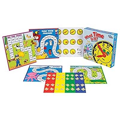 What Time Is It? Educational Board Game: Carson-Dellosa Publishing: Toys & Games