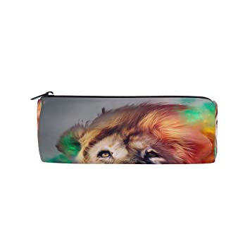 BONIPE Colorido Pintura Hipster Tiger Estuche Estuche ...