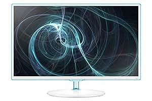 """Samsung LS24D391HL - Monitor de 24"""" con tecnología LED (21 W, 5 ms, 250 cd/m²), blanco"""