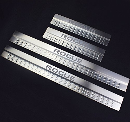 Car Stainless Steel Door Sill Scuff Plate Fit For Nissan