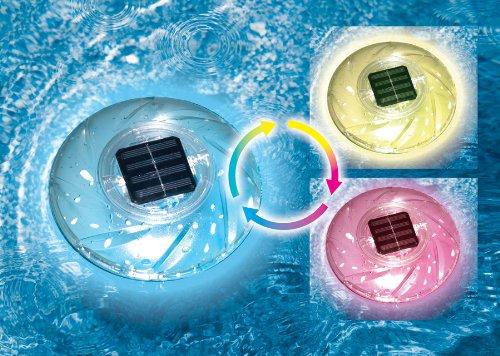 Swimline Floating Solar Pool Light