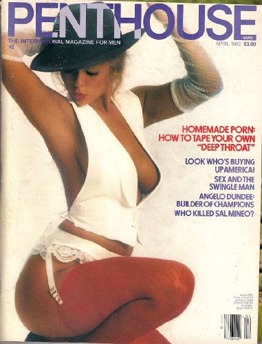 PENTHOUSE APRIL 1982 HOMEMADE PORN ANGELO DUNDEE WHO KILLED SAL MINEO STEPHEN KING AND MORE!