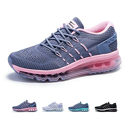 ONEMIX Womens Air Running Shoes,Sloping Tongue Design Sneakers