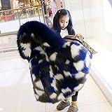 rainwater-shop Winter Children Faux Fox Fur Coat