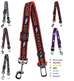 NFL Denver Broncos Pet Seatbelt, Retractable Dog