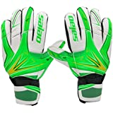 inkint Professional Soccer Gloves for Kids/ Juniors Fine Breathable Soccer Goalie Gloves Goalkeeper Gloves for Kids Daily Practice & Training Good for Protecting Hands from Injury