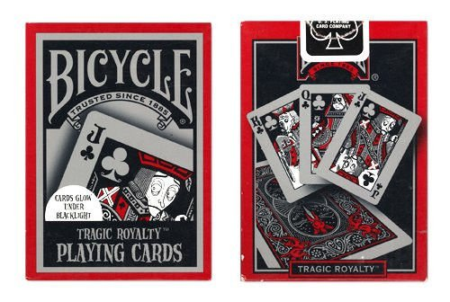 2 Decks Tragic Royalty Bicycle Playing Cards by US Playing Card Co