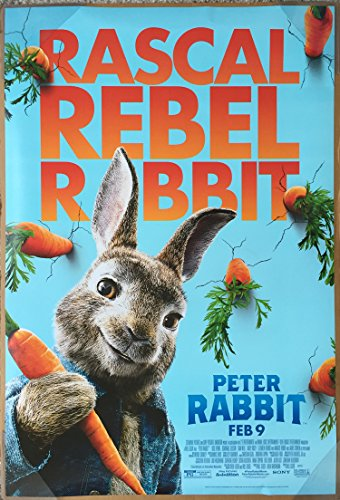 PETER RABBIT MOVIE POSTER 2 Sided ORIGINAL FINAL 27x40 JAMES