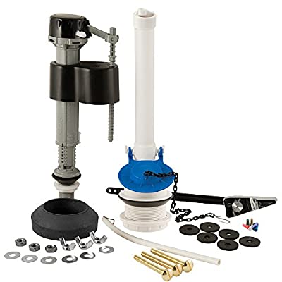 Plumbcraft 7029000 Complete Toilet Repair Kit - Universal Fit for most Toilets