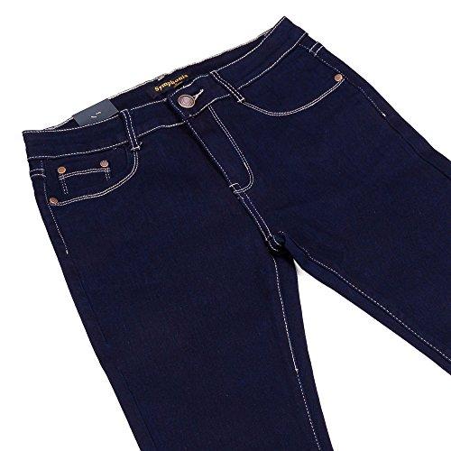 iTaL-dESiGn - Vaqueros - skinny - para mujer azul oscuro
