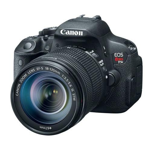 Canon EOS Rebel T5i 18-135mm IS STM Digital SLR Camera Kit (Black) by Canon