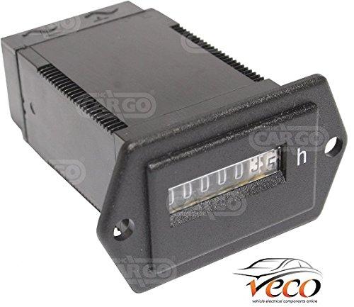 ELECTRICAL VEHICLE ENGINE DASHBOARD GAUGE HOUR METER 12 VOLT 24 VOLT 160747: