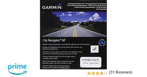 Garmin city navigator europe nt benelux france