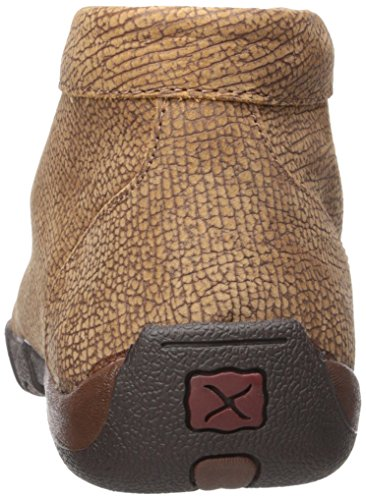 Distressed Leather Men's Moccasin Twisted X Grain Driving Boots SPqPUzF