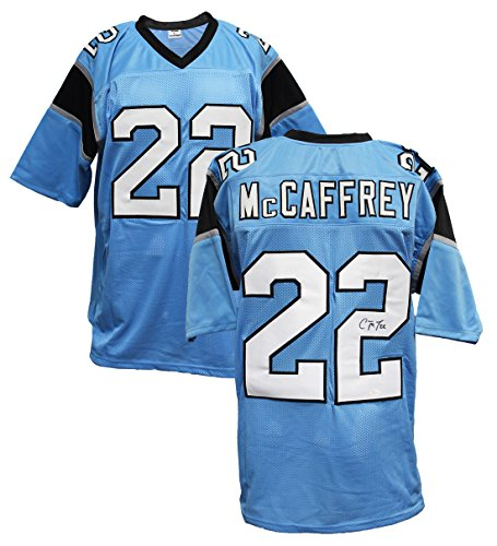 Authentic Christian McCaffrey Autographed Custom Jersey Carolina Panthers - Rb Authentic