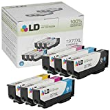 LD Products Remanufactured Ink Cartridge Replacement for Epson 277XL ( Black,Cyan,Magenta,Yellow , 6-pack )