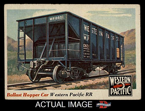 1955 Topps Rails & Sails # 29 Ballast Hopper Car (Card) Dean's Cards 3 - VG 1333523 ()