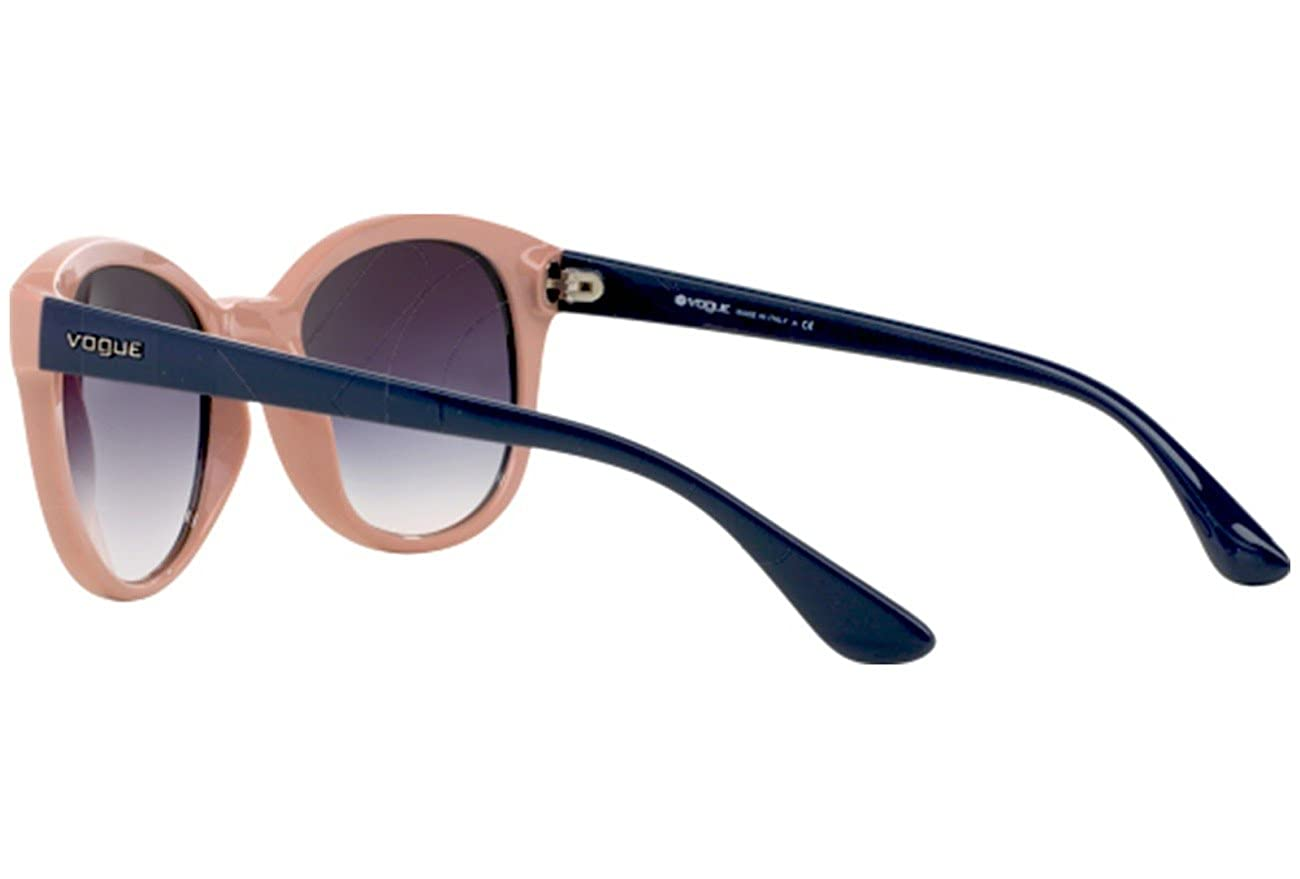 Vogue Sunglasses VO2795S 204236 Top Blue Antique Pink Gray Gradient 53 19  140 at Amazon Women s Clothing store  c2db8a35068
