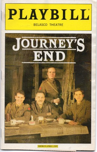 Journey's End Playbill for the Acclaimed Broadway Revival, Starring Hugh Dancy, Boyd Gaines, Jefferson Mayes, and Stark Sands, with Direction By David Grindley - Belasco Theatre - April 2007