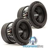 Pair of SA-8 V.3 D4 Sundown Audio 8'' Dual 4-Ohm SA Series Subwoofers