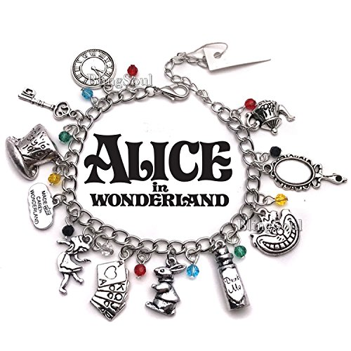 Alice in Wonderland Charm Bracelet - Disney Costume