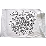 Colortime Crafts and Markers Girl Power Pillowcase