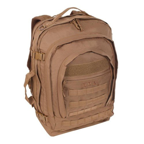 Sandpiper of California Bugout Backpack (Brown, 22x15.5x8-Inch)