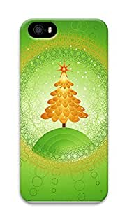 iPhone 5 5S Case Green Christmas Tree 3D Custom iPhone 5 5S Case Cover