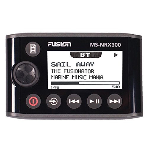 Fusion Entertainment NMEA 2000 Wired Remote Control (Best Marine Stereo With Wired Remote)