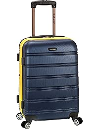 Rockland Luggage Melbourne 20 Inch Expandable Carry On, Navy