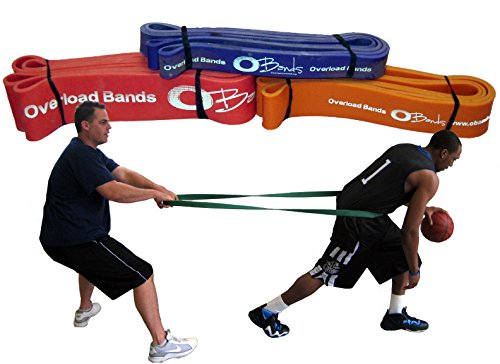 O-Bands Resistance Sports Training Bands (X-Large)