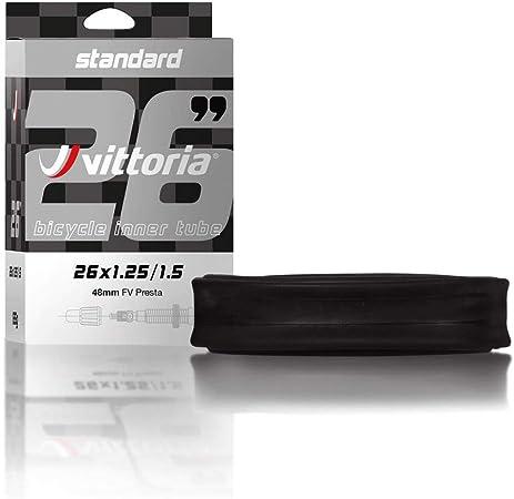 Vittoria Standard Inner Tube 26 x 1.95//2.50 Black