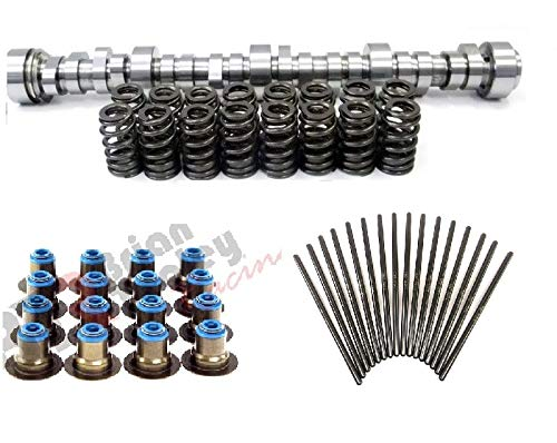 (BRIAN TOOLEY RACING BTR Vortec TRUCK STAGE 2 CAM and Spring KIT 4.8 5.3 6.0 with Pushrods and Lifters)