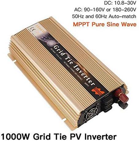 MEIGONGJU MPPT 1000W auf Rasterfeld-Riegel-Solarinverter 18 / 36V DC zu AC 110 / 220V Micro Inversor Reiner Sinus-Wellen-Inverter für 1000W 36/60/72 Zellen