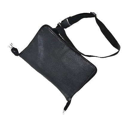 877a86d81 1PC PU cuero maquillaje cepillo cintura bolsa portátil cosmética titular de  pincel organizador con correa de