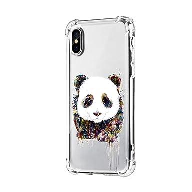 coque iphone xr panda silicone