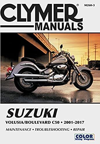 suzuki volusia boulevard c50 from 2001 2017 clymer repair manual rh amazon com suzuki boulevard c50 engine diagram