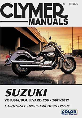2004 Shift - Suzuki Volusia & Boulevard C50 from 2001-2017 Clymer Repair Manual: Suzuki Volusia (2001-2004) & Suzuki Boulevard C50 (2005-2017) (Clymer Powersport)
