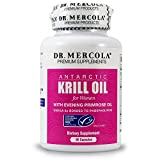 Dr. Mercola Krill Oil for Women - 90 Capsules - With Evening Primrose Oil - Omega-3 Bonded To Phospholipids - MSC-Certified - Improved Absorption Over Fish Oil